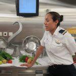 Cocinar para 4.000 comensales. Royal Caribbean cruises.