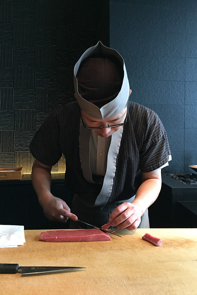 el sushi más autentico