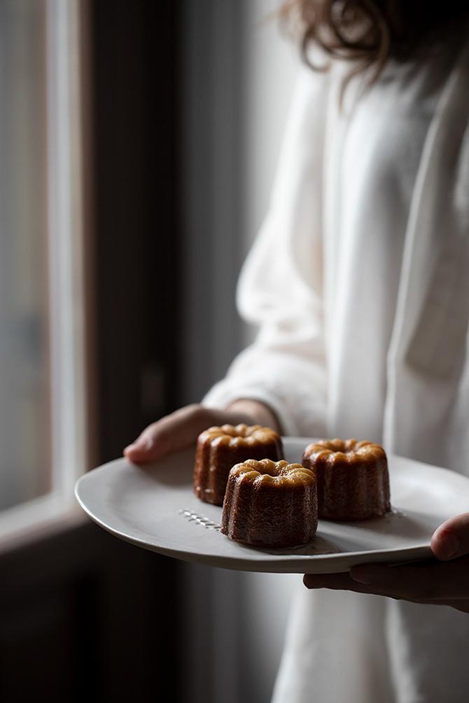 como hacer cannelés pastelitos franceses